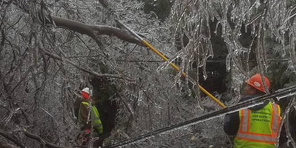 Xcel Energy continues to restore power lines across the Panhandle