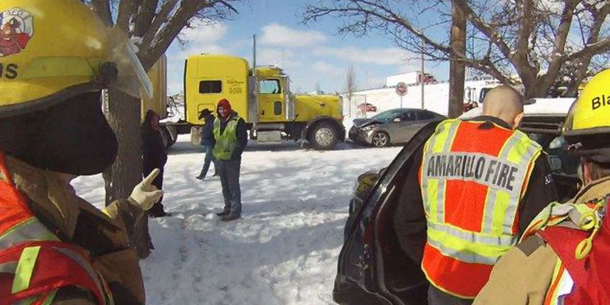 Confused drivers & icy roads could reduce first responder response times