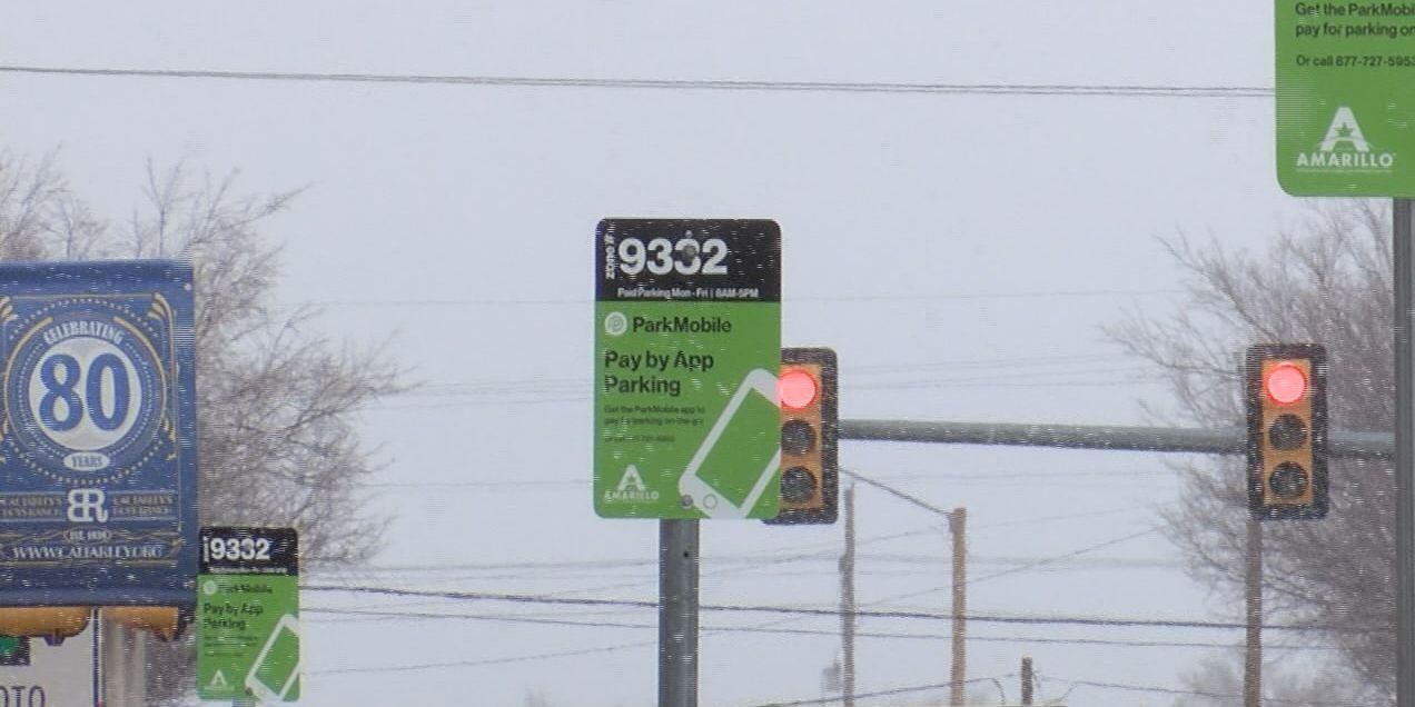 New downtown Amarillo parking system officially in effect