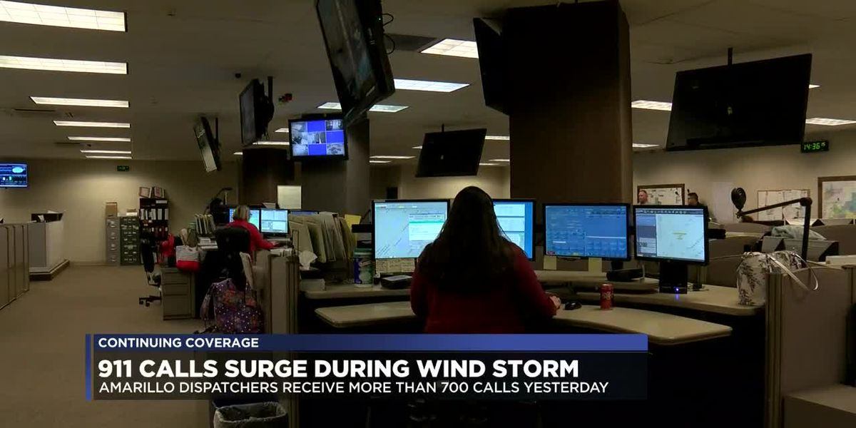 911 calls up exponentially during Wednesday wind storm