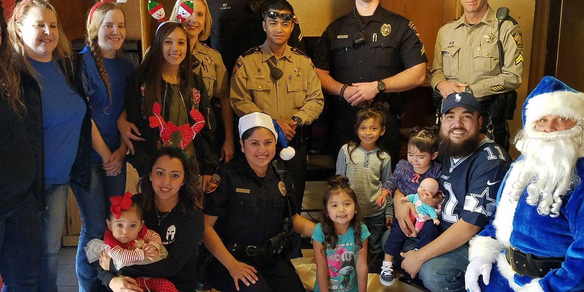 Operation Blue Santa provides gifts for local children in need