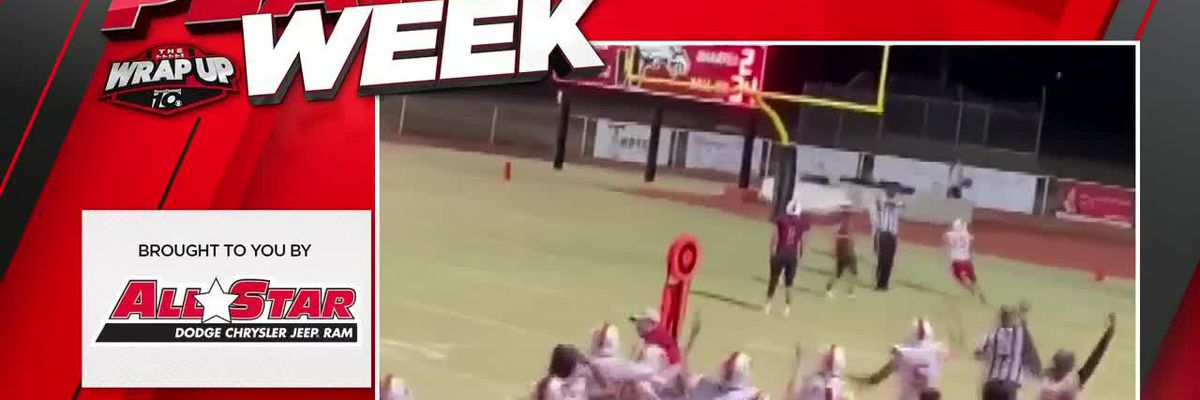 Video - The Wrap up Wk 8 - Play of the Week - KFDA