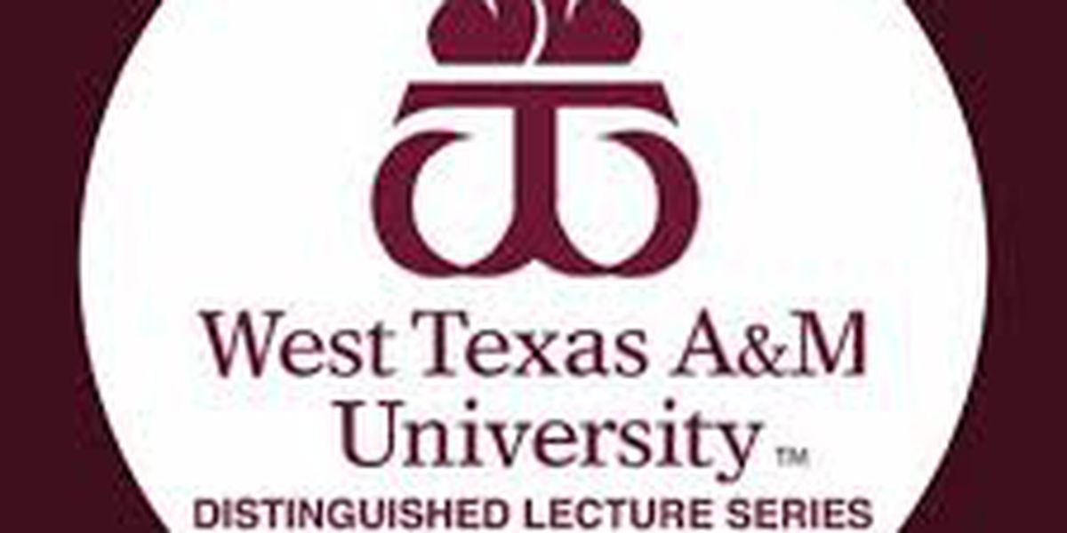 """""""Streets of Laredo"""" lecture to continue WTAMU's Distinguished Lecture series"""