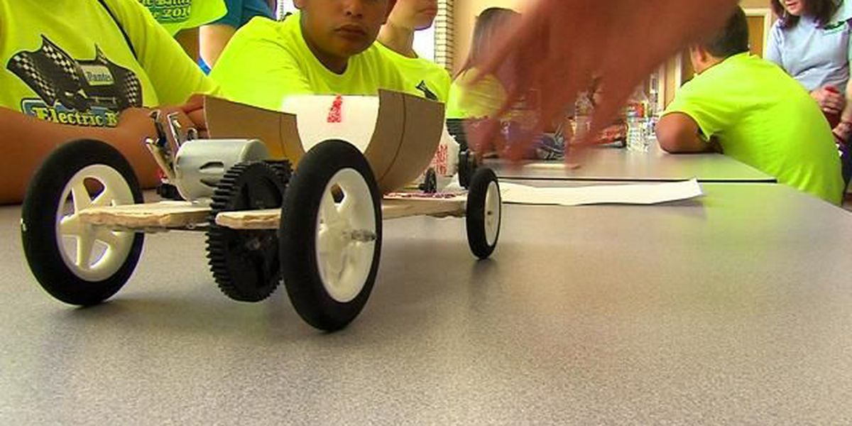 Electric battery car race highlights student achievement