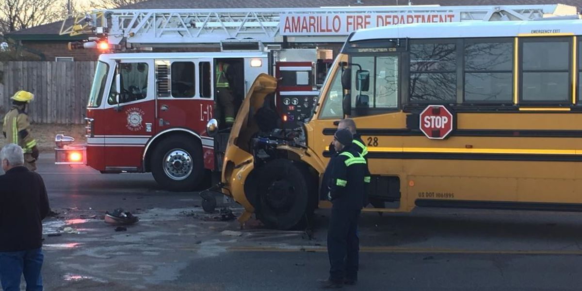 1 person dead from injuries after morning wreck involving school bus