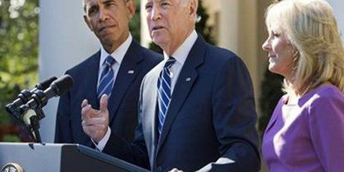 Biden says he won't run for president, a boost for Clinton