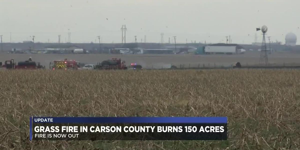 Grass fire in Carson County contained