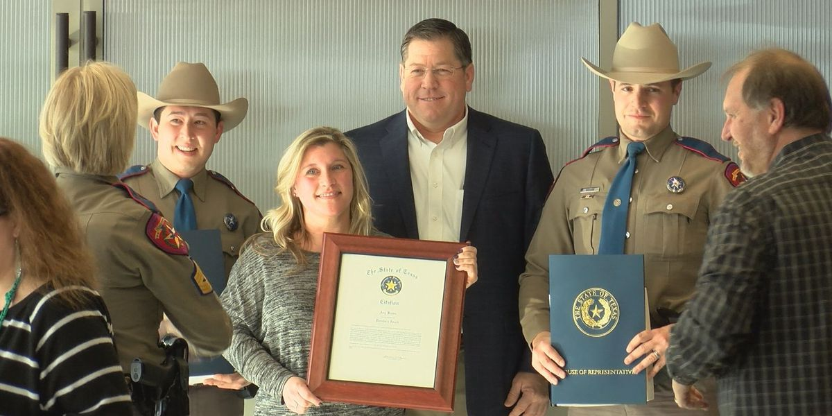 4 people given awards for life-saving efforts in Amarillo