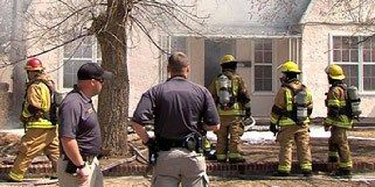A dozen fire units respond to San Jacinto house fire