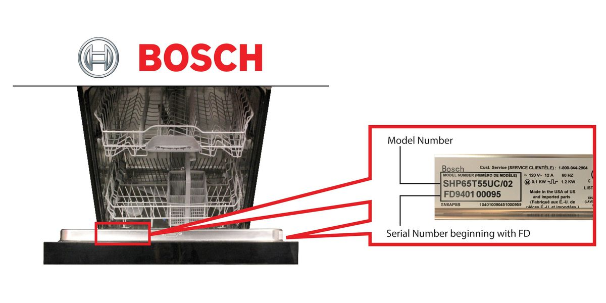 RECALL ALERT: BSH Home Appliances expands recall of dishwashers due to fire hazard