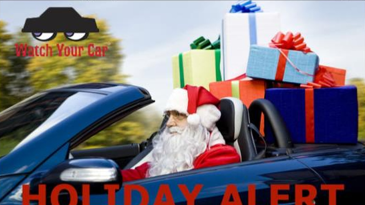 Officials warn against increased auto burglaries during holidays