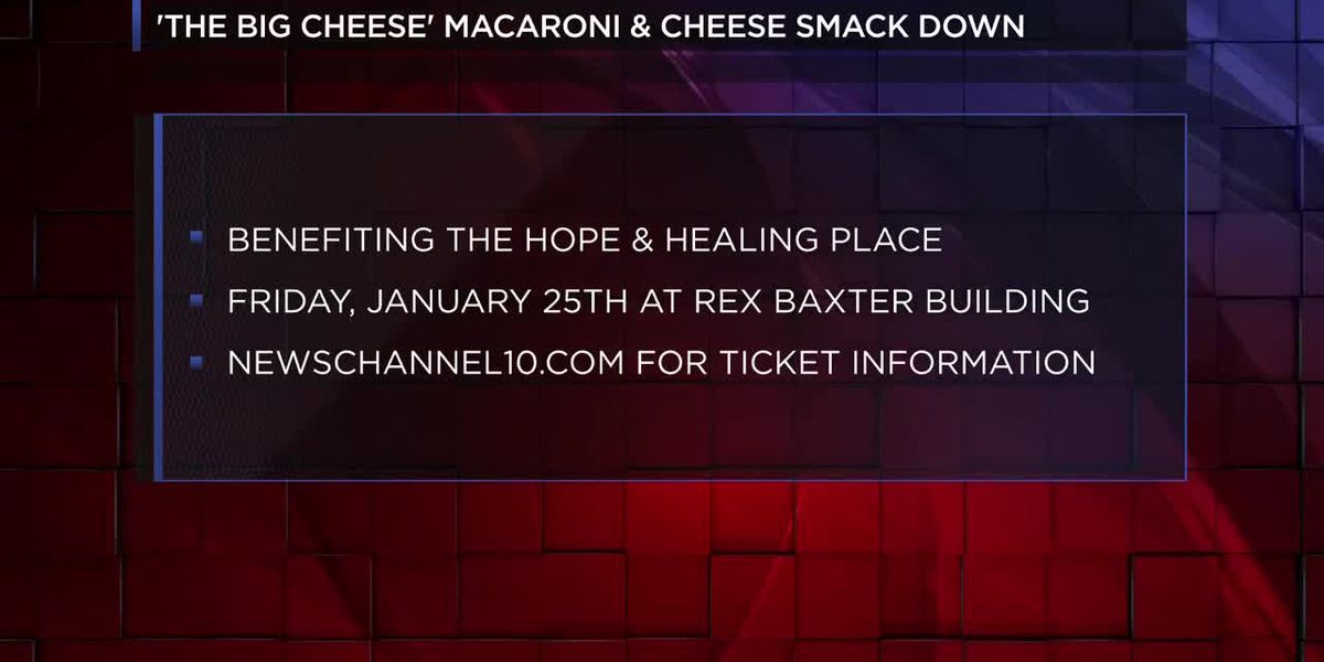 VIDEO: Hope and Healing Place gears up for 'The Big Cheese' mac and cheese cookoff