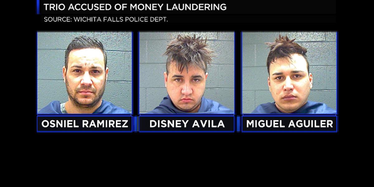 Trio accused of Money Laundering, ID Theft