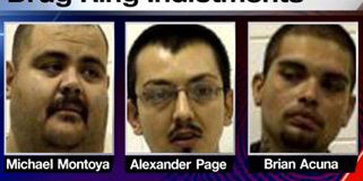 Four people indicted on felony drug charges