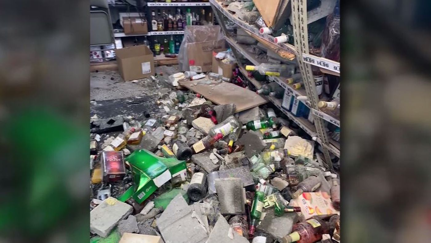 Thieves Smash Through Wall Of Detroit Liquor Store With