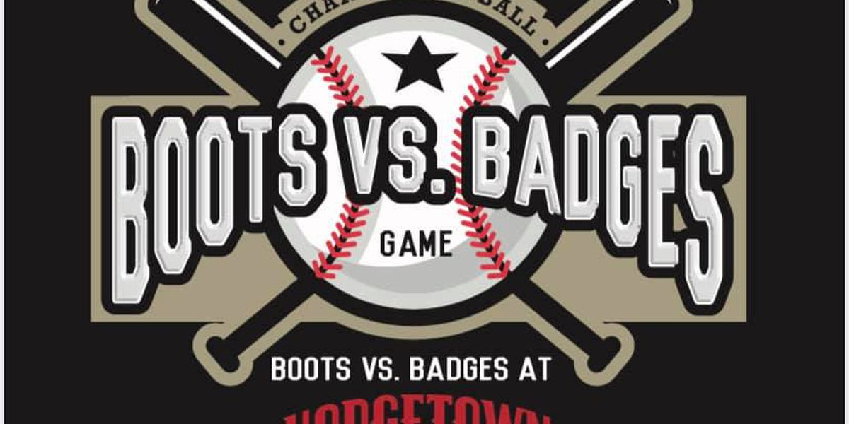 Boots vs. Badges softball game happening this Saturday