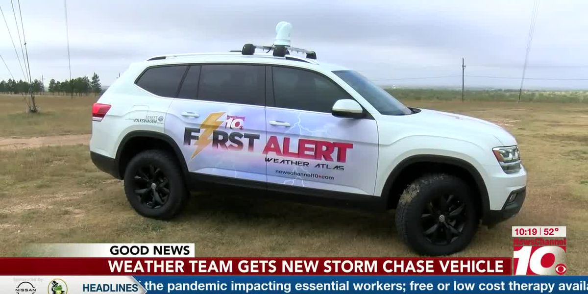 GOOD NEWS: Weather team gets new storm chase vehicle