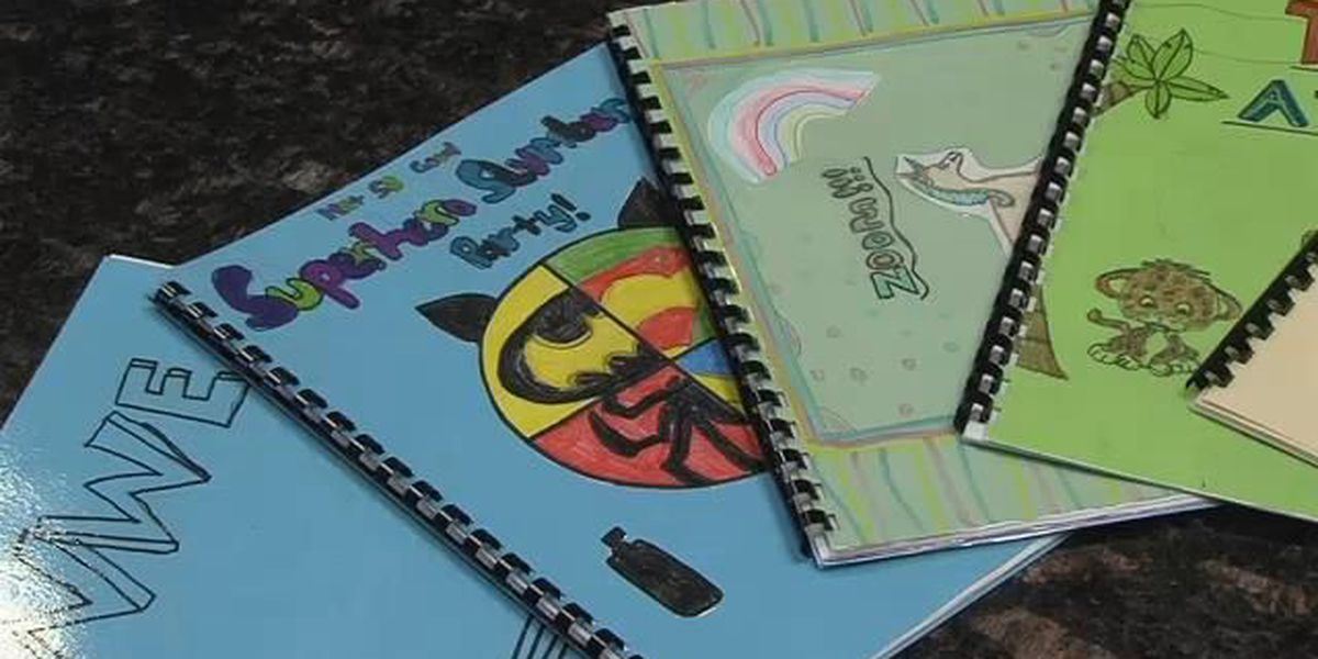 Students at Bowie 6 create books for kids in Kenya