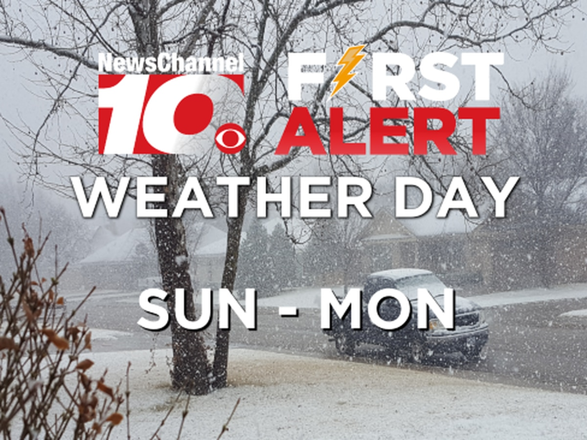 First Alert Weather Update