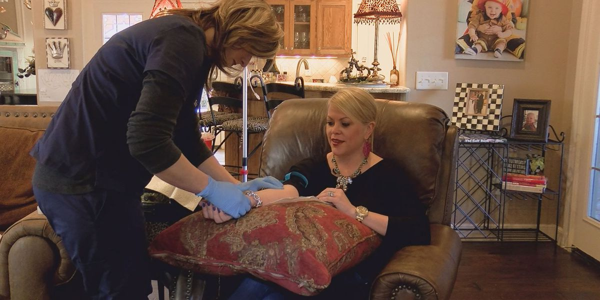 Home IV hydration becoming popular trend in Amarillo