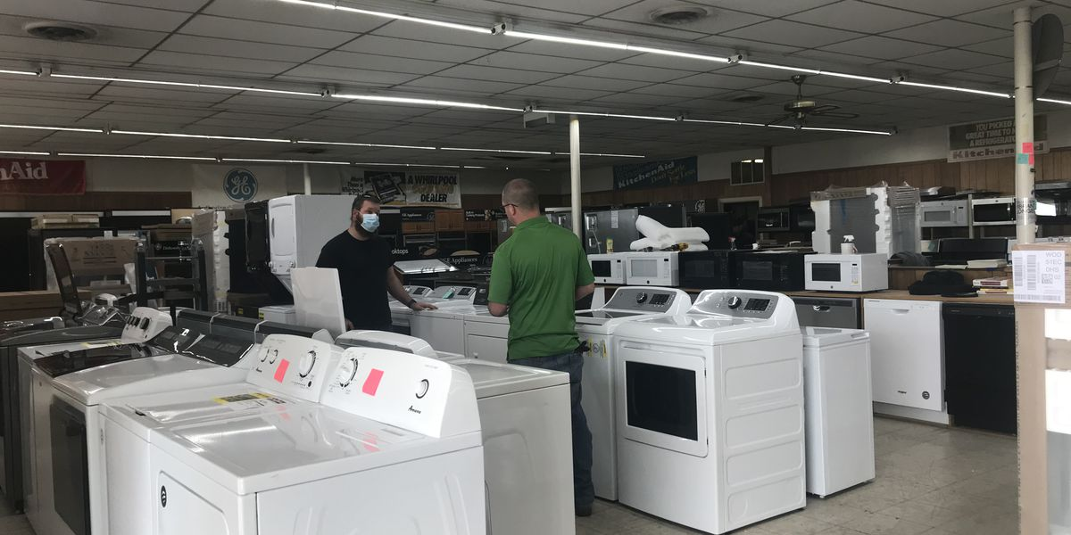 Kitchen and laundry appliances continue to face shortages during the pandemic