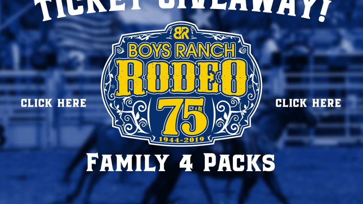 Cal Farley's Boys Ranch Rodeo and AdventureFEST ticket giveaway