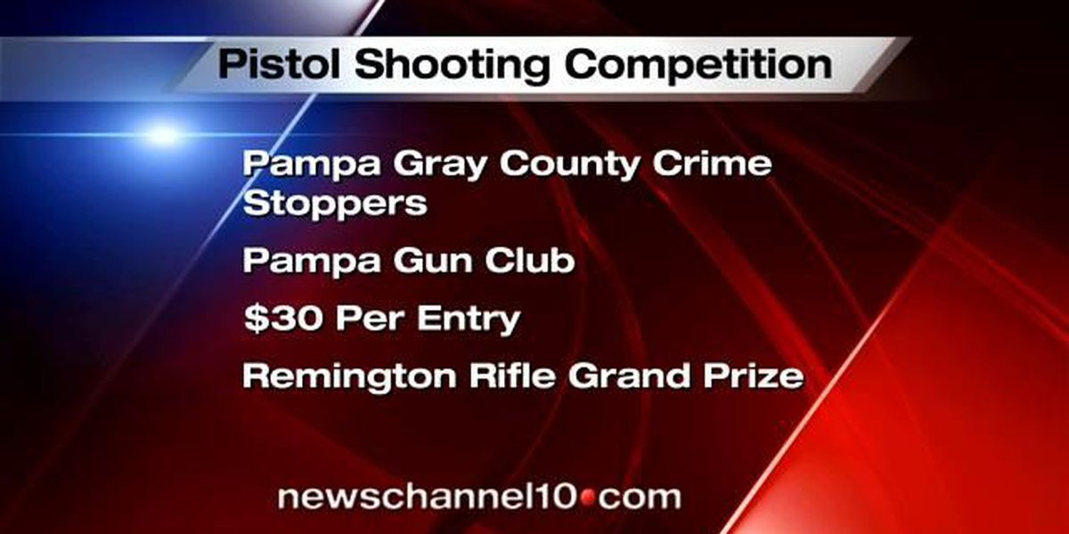 Pampa Crime Stoppers hosts pistol shooting event