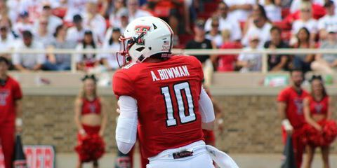 TTU quarterback Alan Bowman still in hospital after tackle causes partially collapsed lung