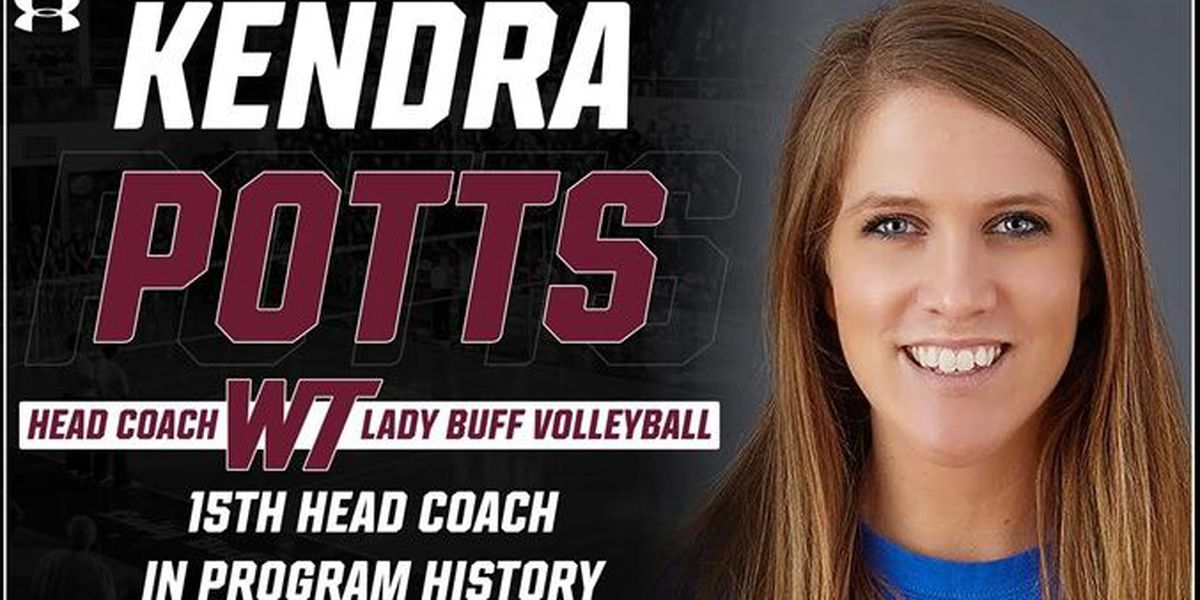 WT Volleyball hires former All-American Kendra Potts as their 15th Head Coach