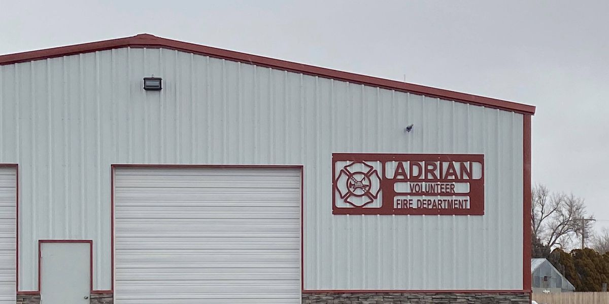 After 10 years of fundraising efforts, Adrian gets new fire station