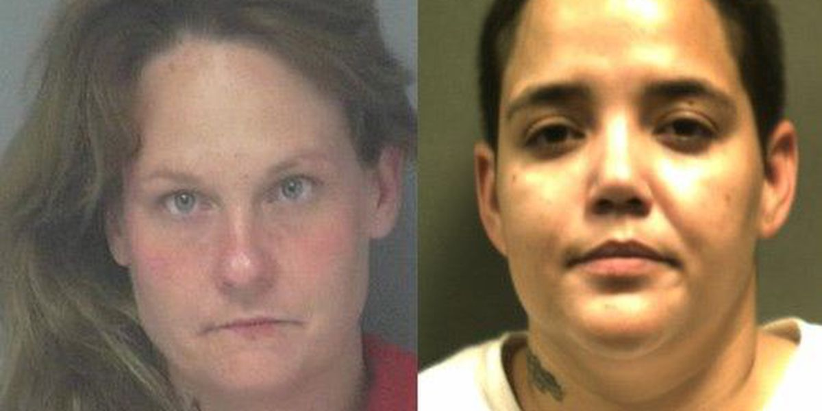 2 women arrested after narcotics search