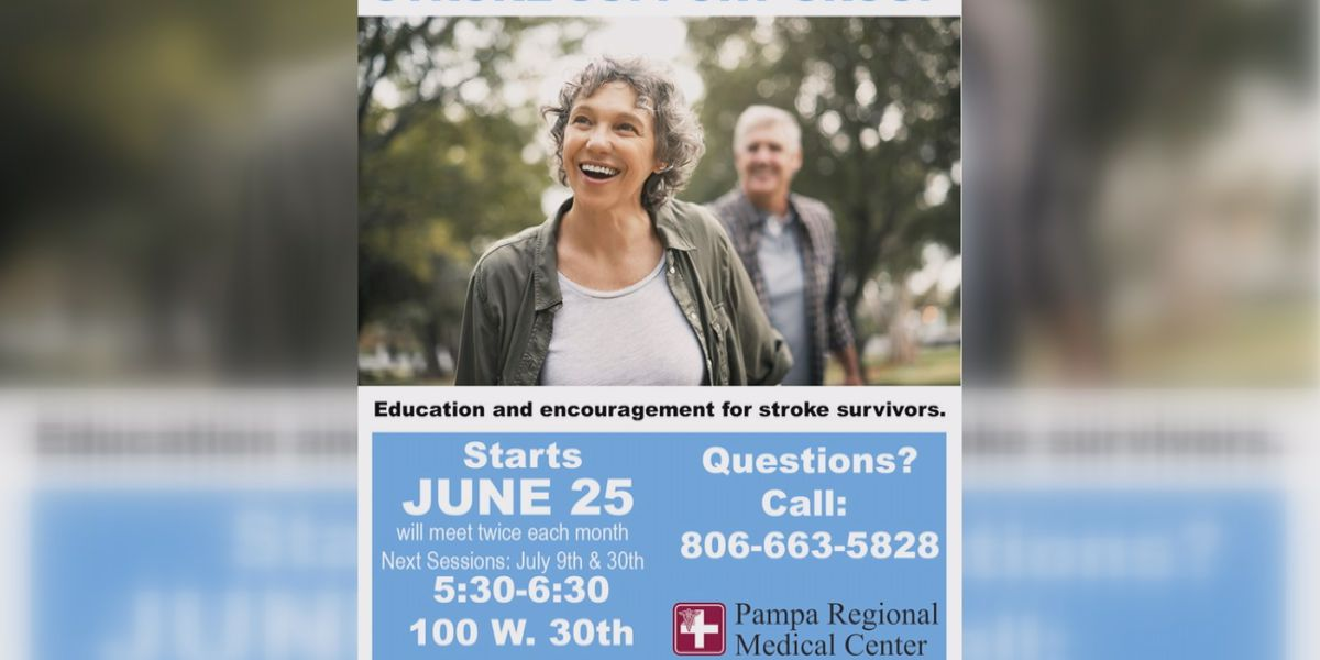 Stroke support group starting this month at Pampa Regional Medical Center