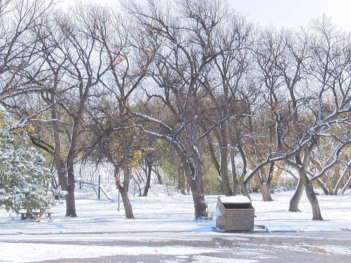 Kids in Amarillo enjoy their first snow day in almost two years