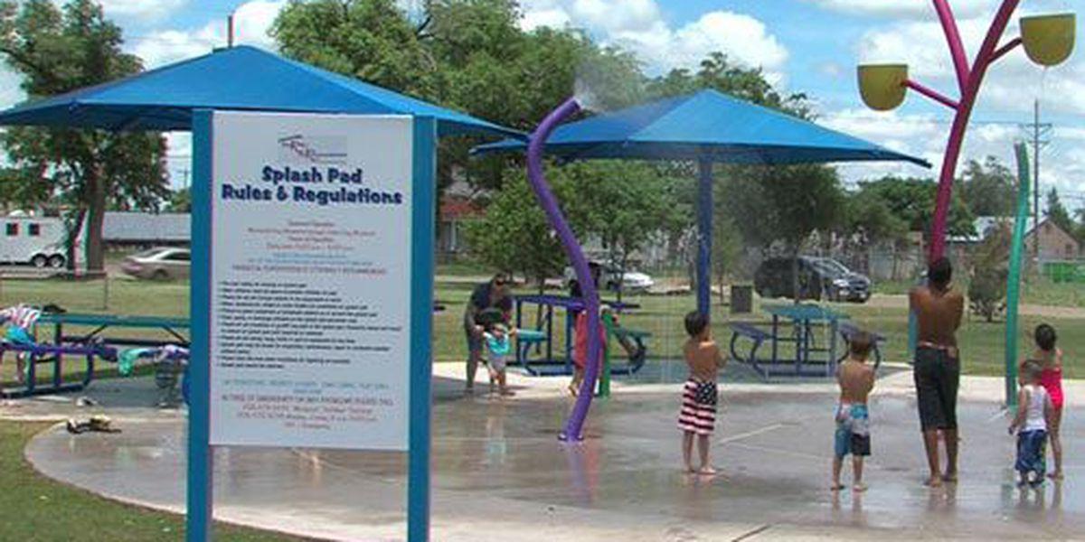 Glenwood Park Splash Pad grand opening Wednesday