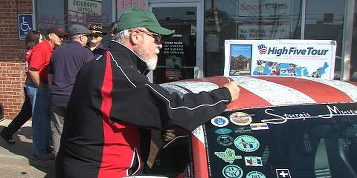 Veteran signatures travel across U.S. for Wounded Warriors