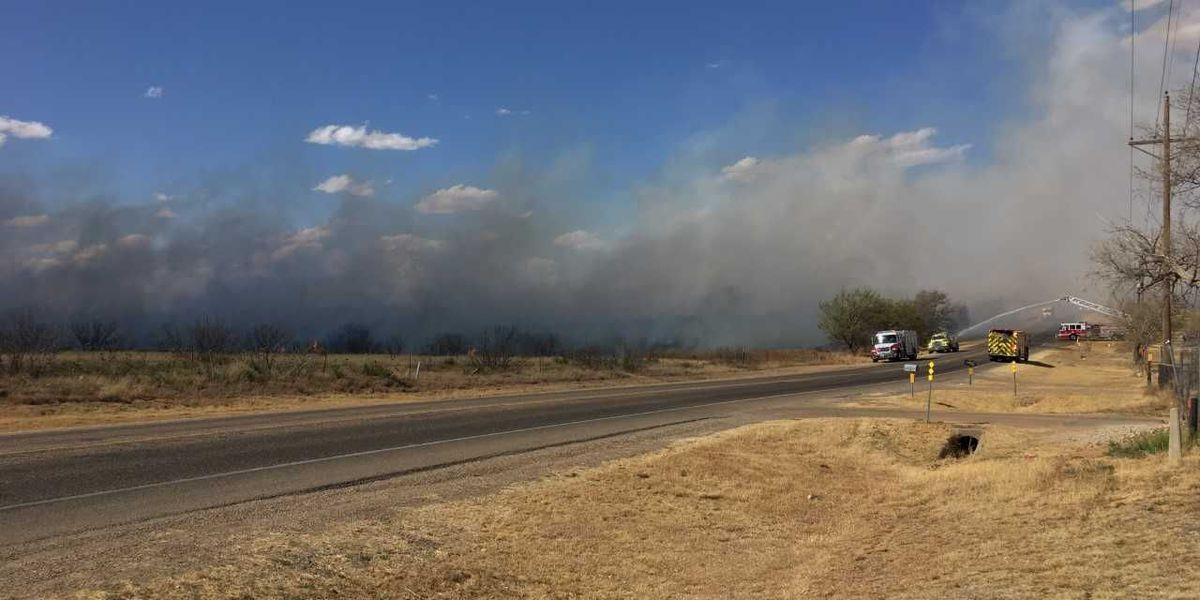 Potter County grass fire now 100 percent contained
