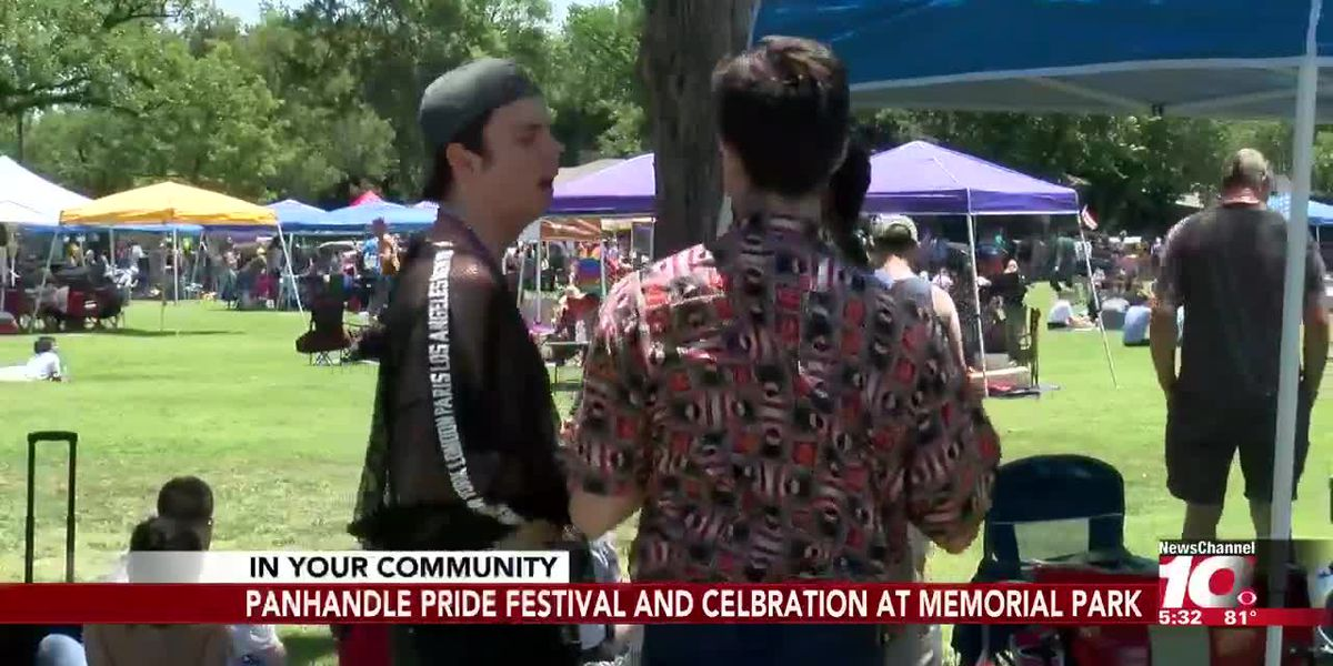 Hundreds gather for the Panhandle Pride Festival and Celebration