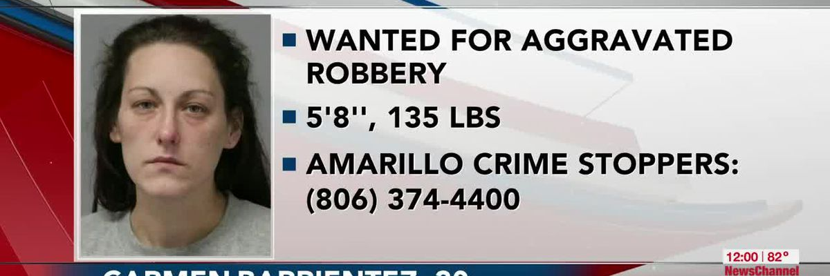 VIDEO: Officials: Woman wanted for aggravated robbery