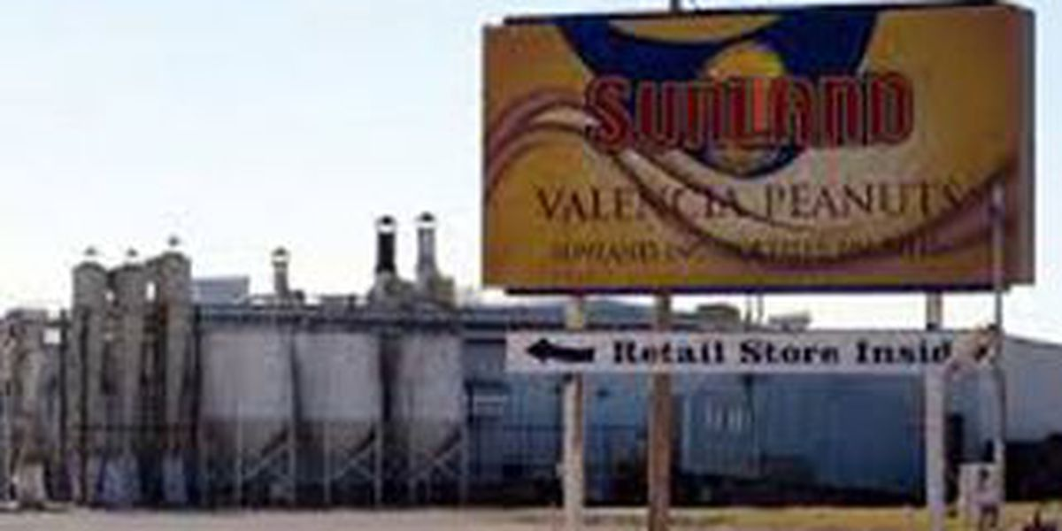 Sunland peanut plant files for bankruptcy