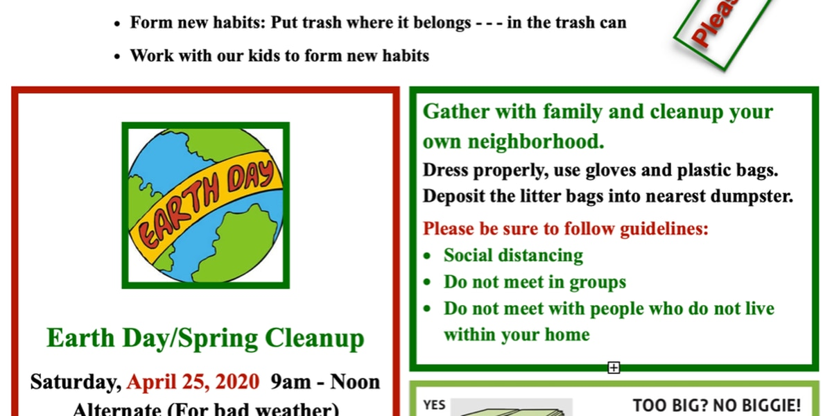 Amarillo elementary students invited to help clean up on Earth Day