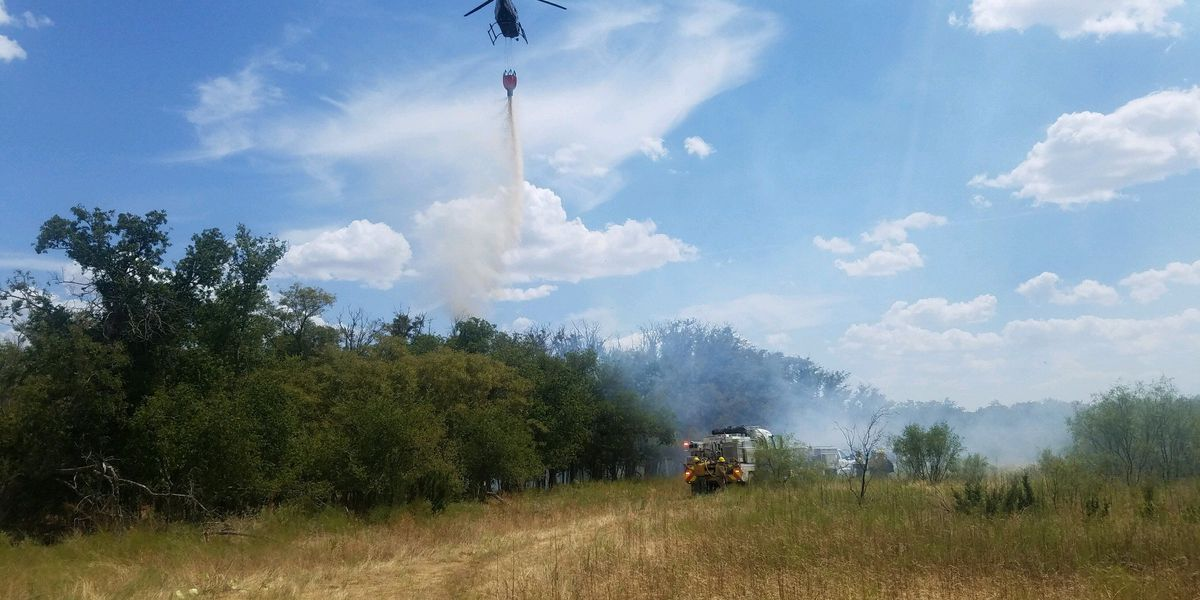 Range fire in Hardeman County at least 70% contained