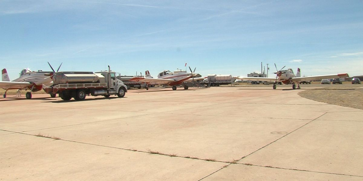 Firefight by flight: pilots provide critical support during wildfires