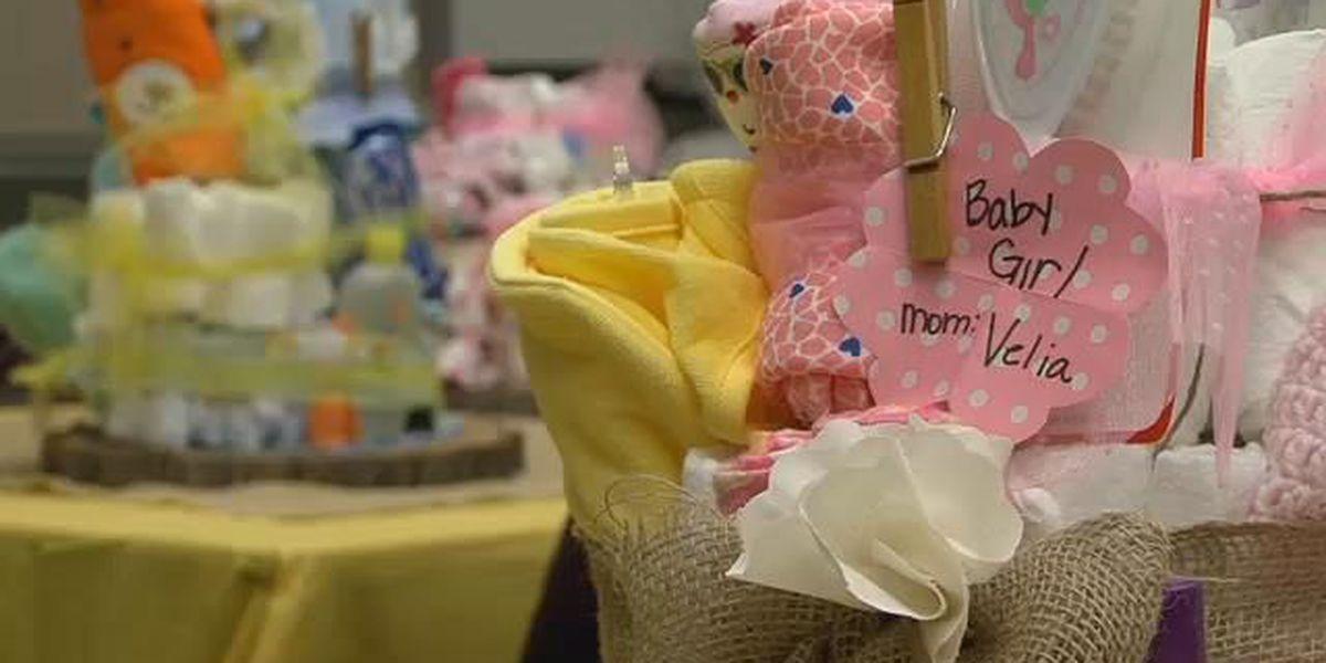 VA throws baby shower for veteran mothers