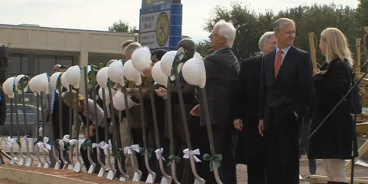 City breaks ground for downtown Embassy Suites