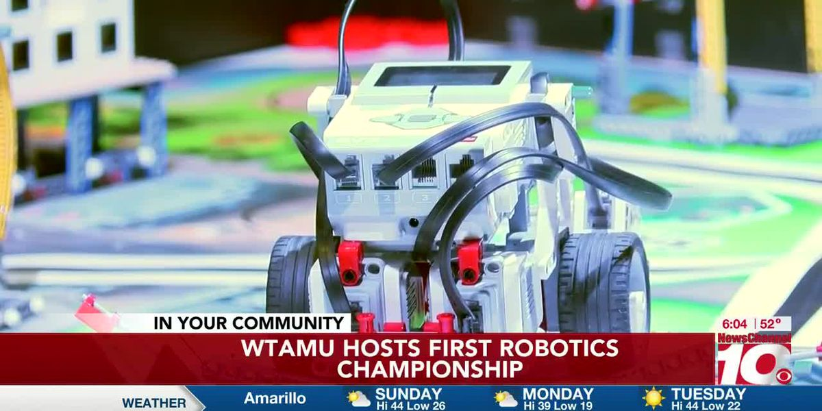 WTAMU hosts first Robotics Championship