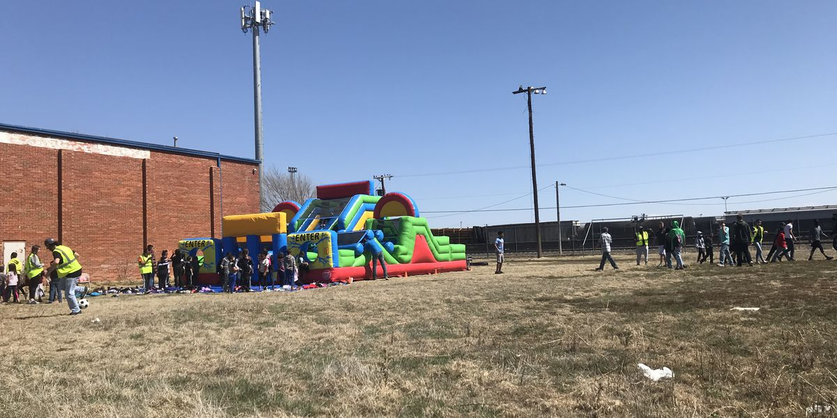 Maverick Boys and Girls Club of Amarillo ended Spring Break with festival and kick ball tournament against APD