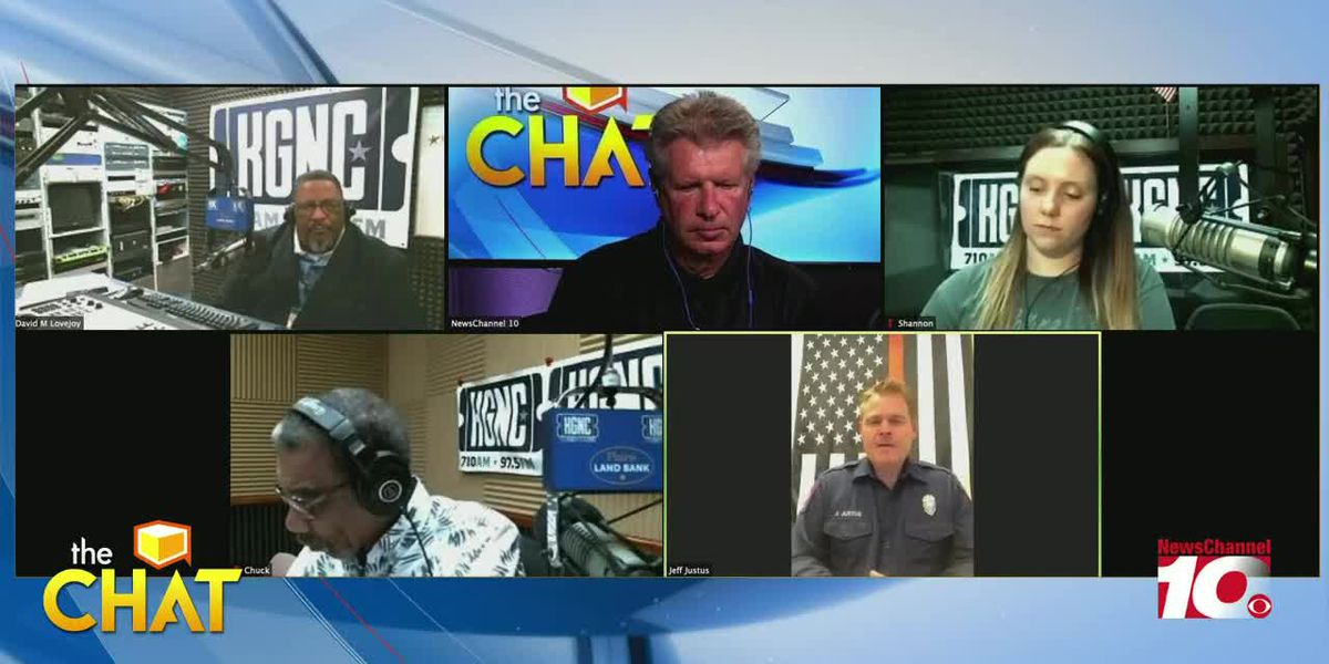 The Chat: Jeff Justice with AFD talks about Amarillo firefighters volunteering in California
