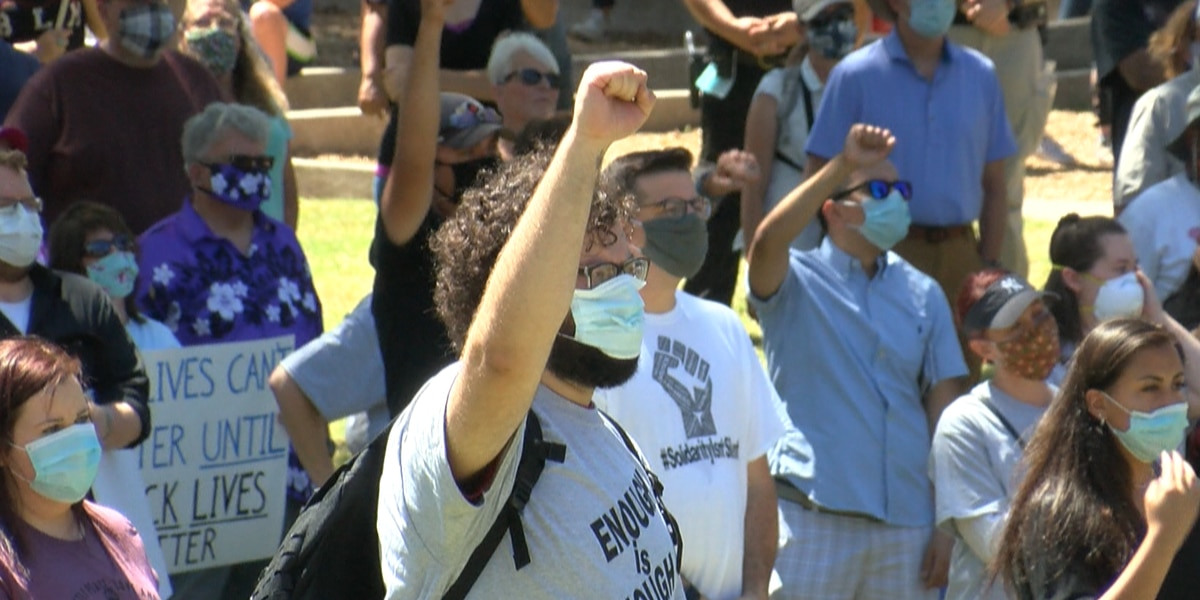 Amarillo Branch NAACP hosts rally for equality