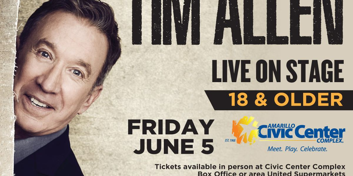 Comedian, actor Tim Allen coming to Amarillo this summer
