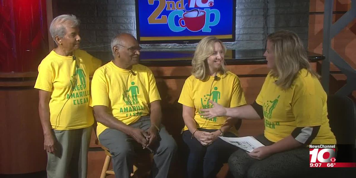 INTERVIEW: Mary and Bob talk about how you can help keep Amarillo clean